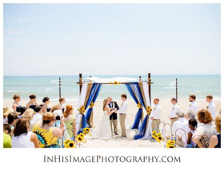 Carolina Beach Wedding