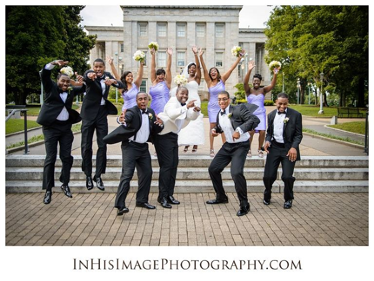 Downtown Raleigh Wedding