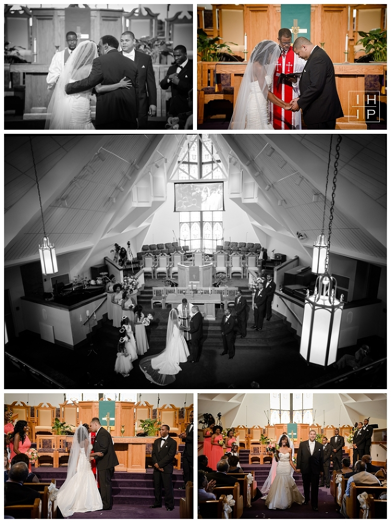 United Metropolitan Missionary Winston Salem Wedding Photographer