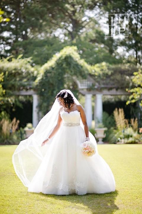 Daniel Stowe Botanical Garden Bridal Krystle