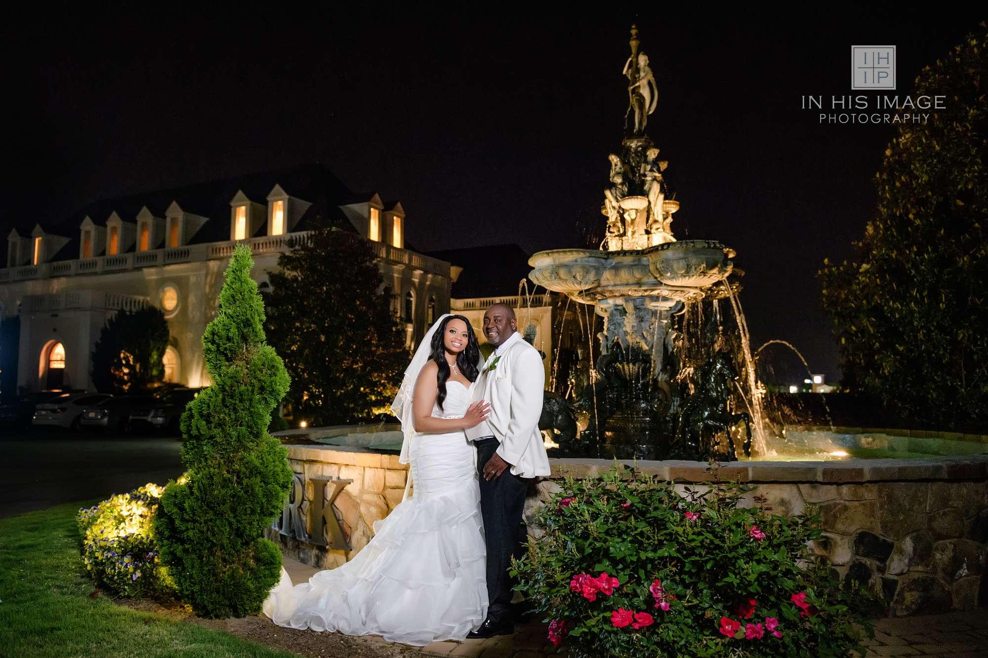 The Hall And Gardens At Landmark Wedding Jermaine Latesha