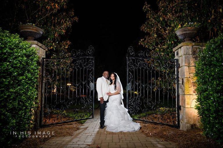 The hall and gardens at landmark wedding jermaine latesha for The hall and gardens at landmark