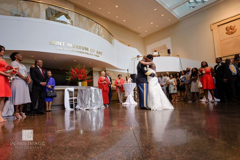 Mint Museum Wedding Dance With Pas