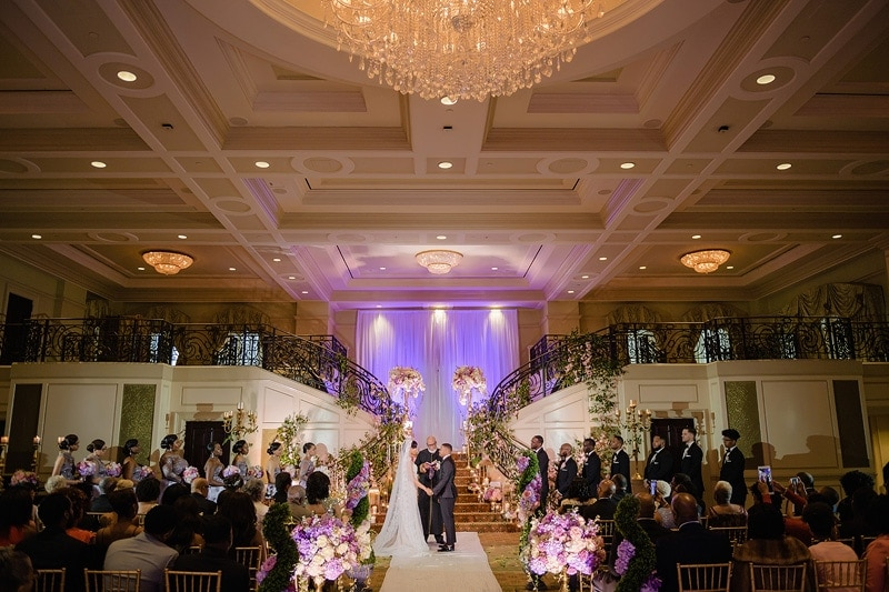 Prestonwood Country Club wedding ceremony