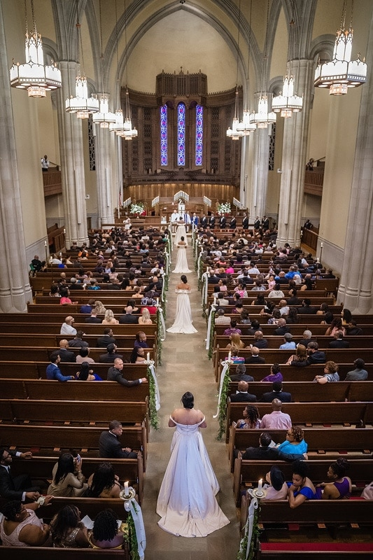 Centenary United Methodist Church wedding ceremony