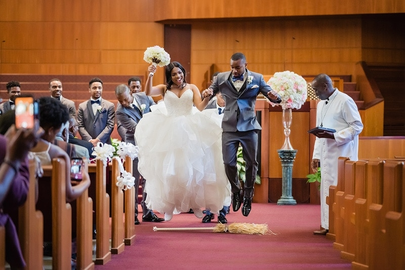 Friendship Baptist Church wedding ceremony