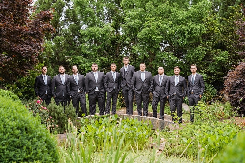 Groomsmen at Hall & Garden at Landmark