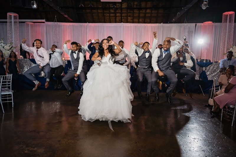 Alpha & AKA wedding celebration